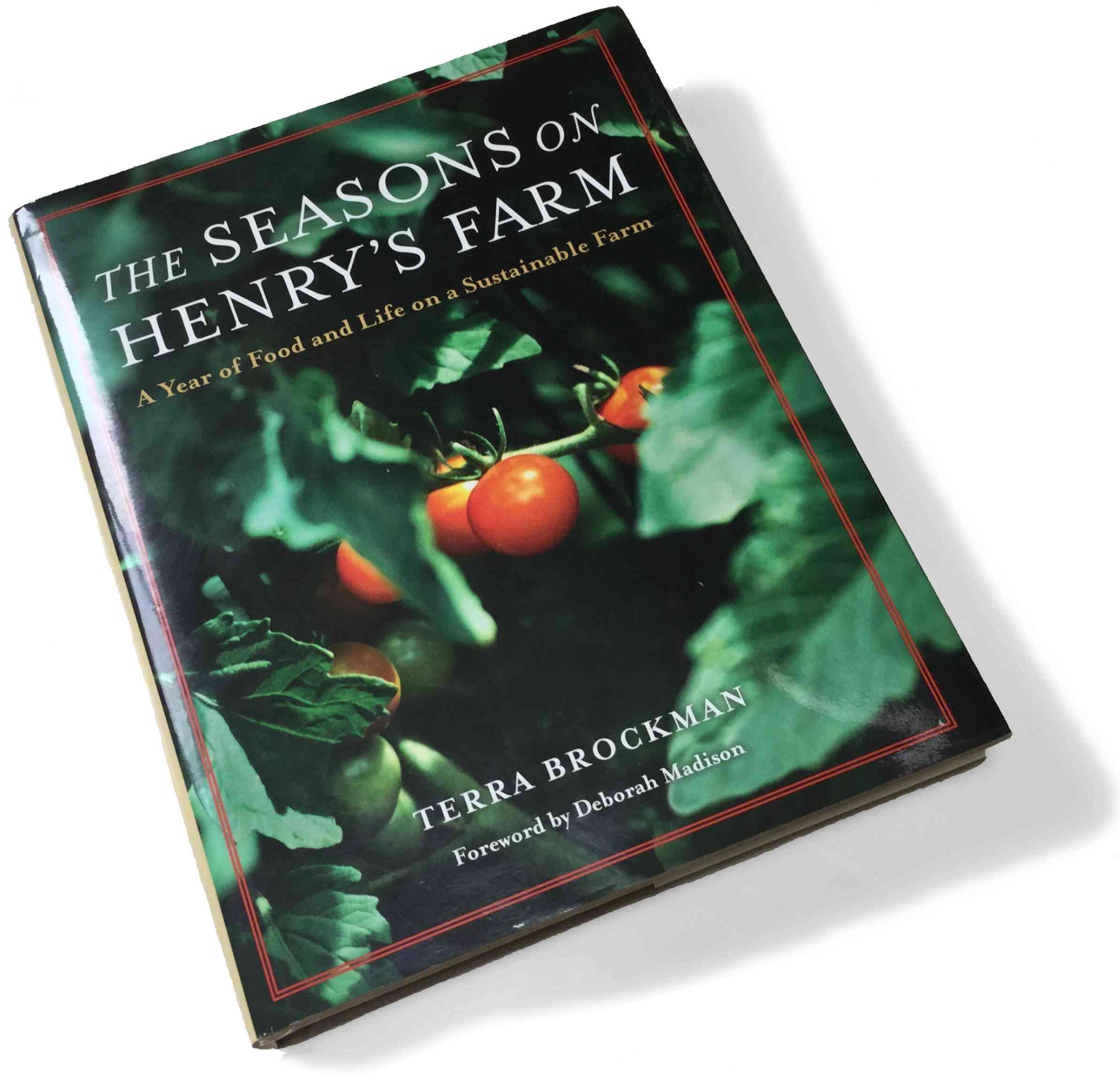 "Terra Brockman's book ""The Seasons on Henry's Farm"""