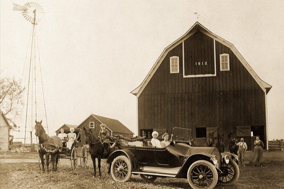 Brockman barn in 1912