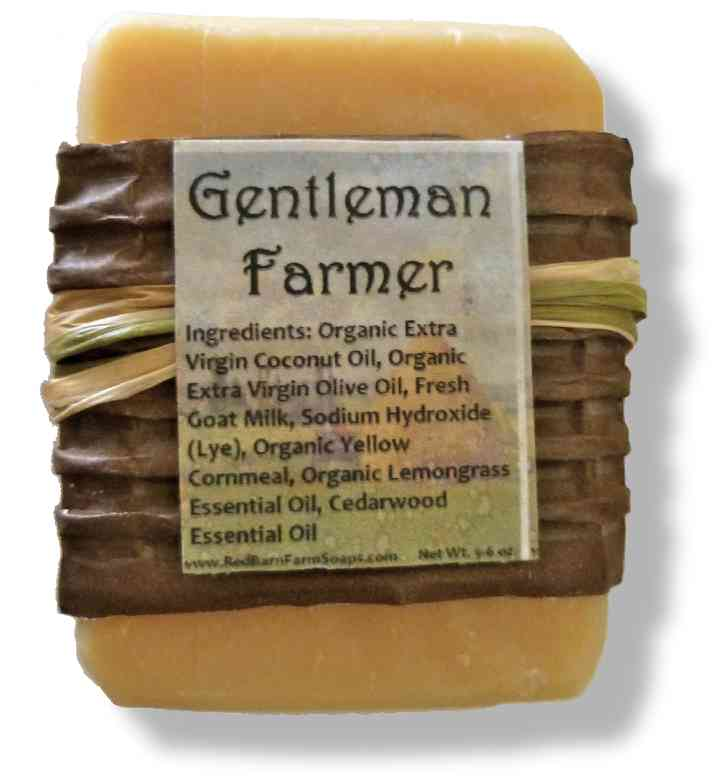 Gentleman Farmer Goat's Milk Soap