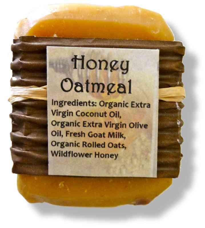 Honey Oatmeal Goat's Milk Soap
