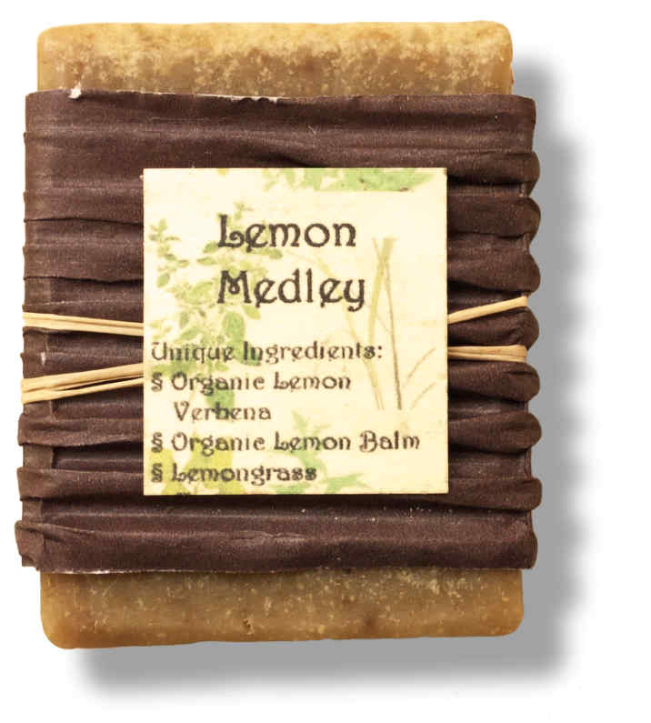 Lemon Medley Goat Milk Soap