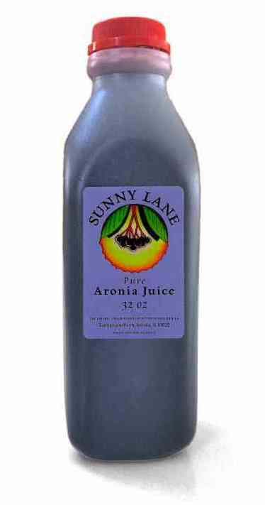32 ounce jug of aronia juice